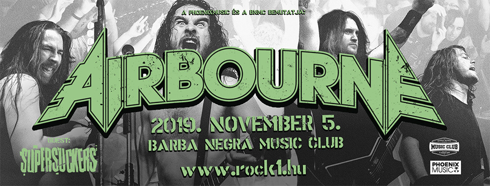 AIRBOURNE - Early Entry Ticket