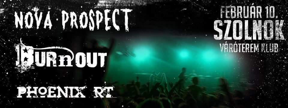 Burnout | Nova Prospect | Phoenix RT - Szolnok - Váróterem