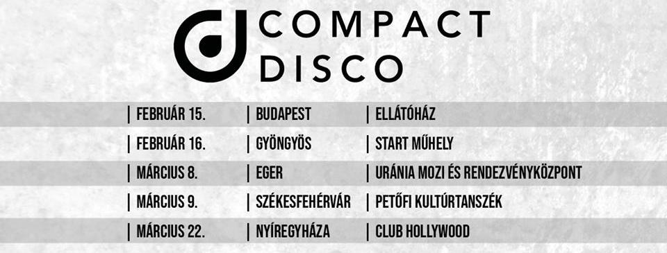 Compact Disco koncert - Nyíregyháza