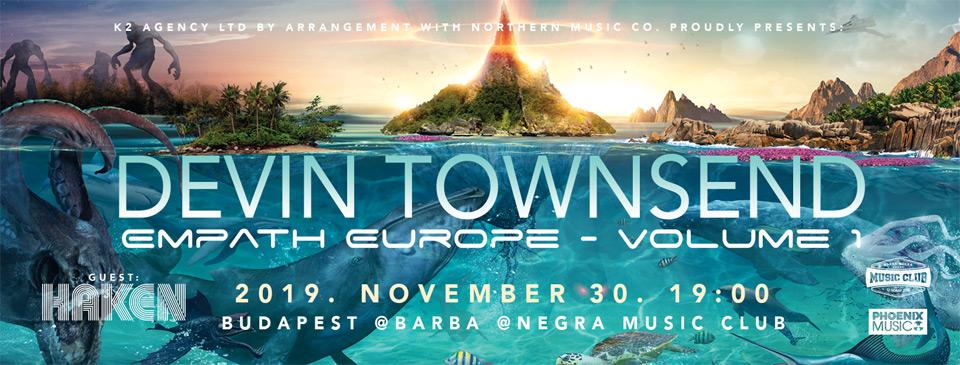 Devin Townsend - Empath Europe