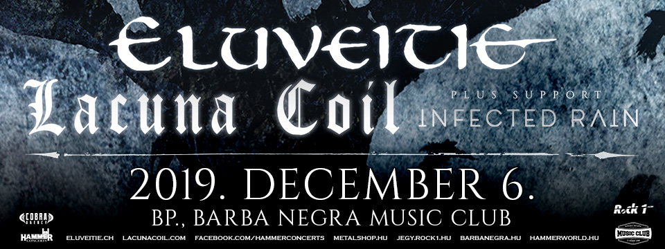 ELUVEITIE (CH) | LACUNA COIL (IT) - Early Entry Ticket