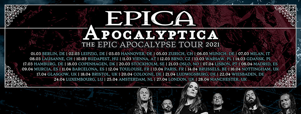 EPICA | APOCALYPTICA | Wheel - VIP Ticket