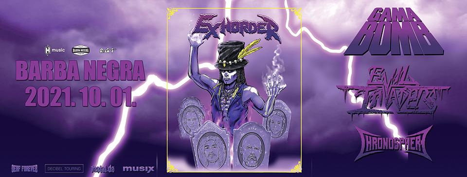 ELMARAD - EXHORDER | Gama Bomb | Evil Invaders | Chronosphere