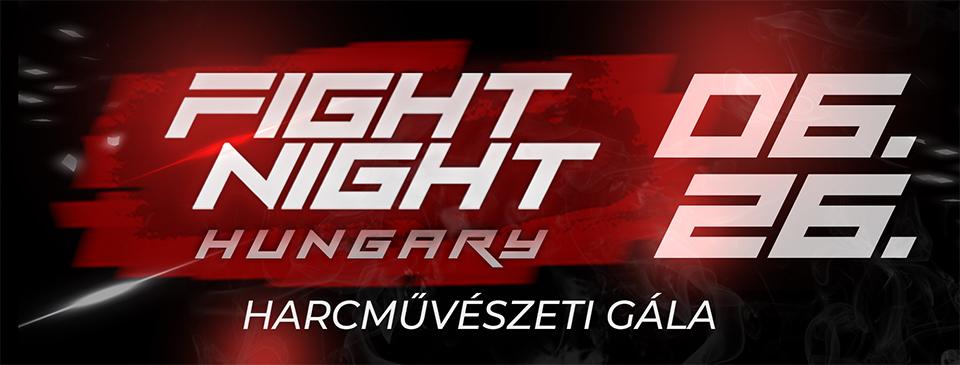 FIGHT NIGHT HUNGARY - Diákjegy