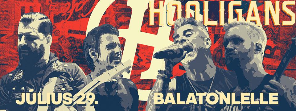 Hooligans - Balatonlelle - Szabadtéri színpad