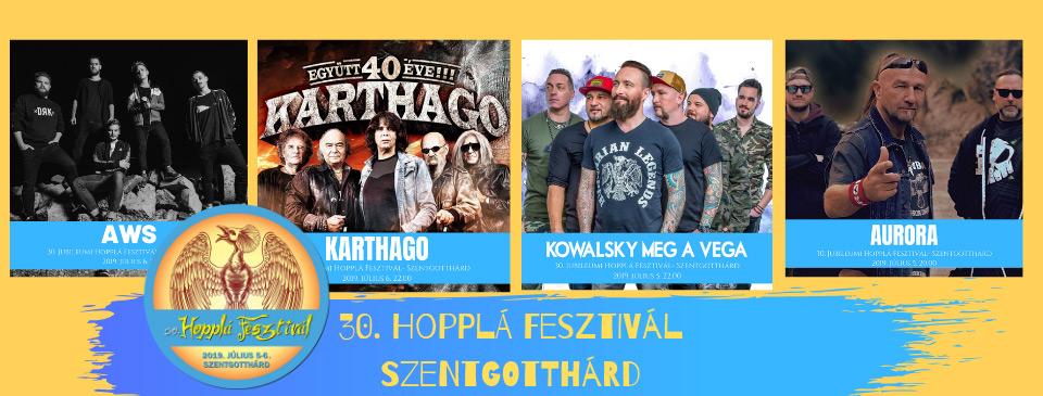 30. Hopplá Fesztivál - NAPIJEGY 07/05