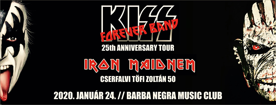 KISS Forever Band | Iron Maidnem