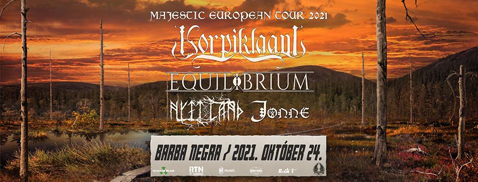 KORPIKLAANI - Majestic European Tour 2021