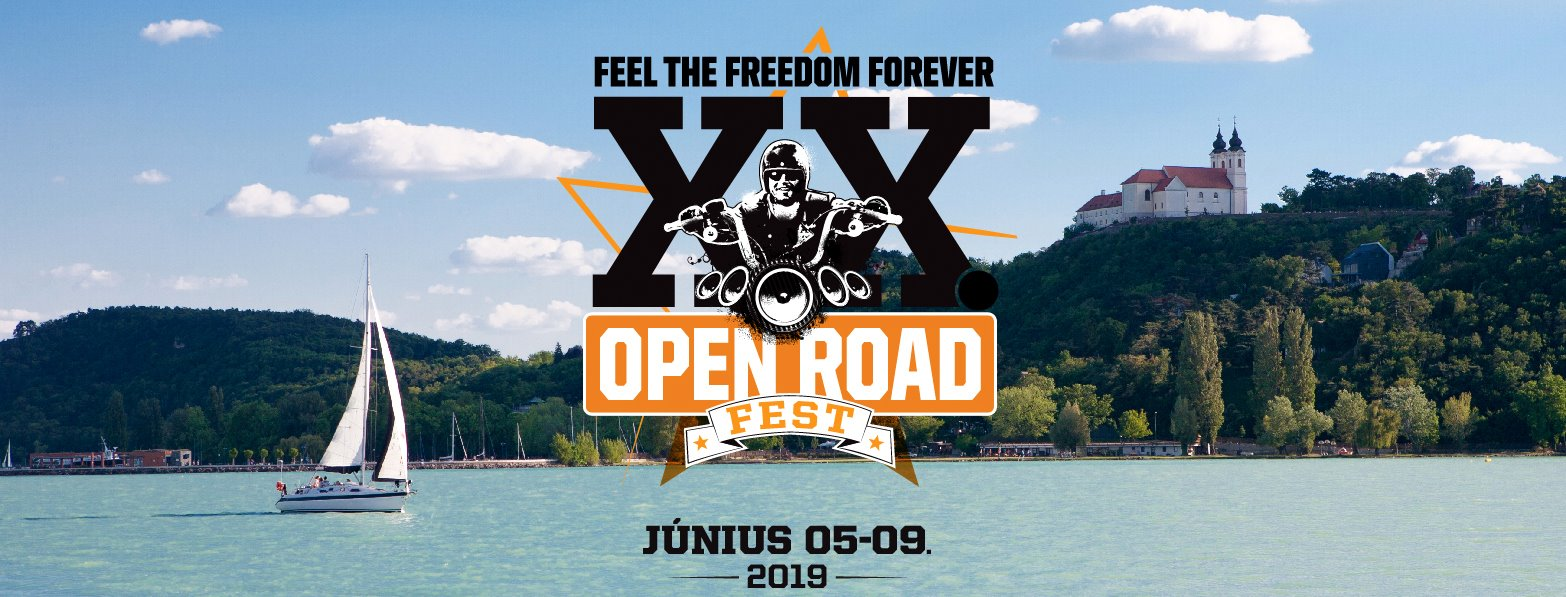 20. Open Road Fest - HETIJEGY