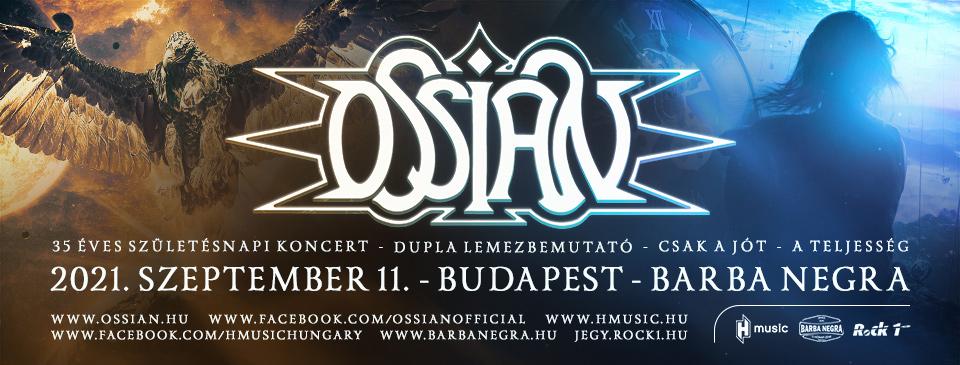 ELHALASZTVA - OSSIAN - 35 éves jubileumi koncert