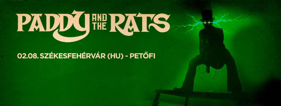 Paddy and the Rats 2020 – Székesfehérvár