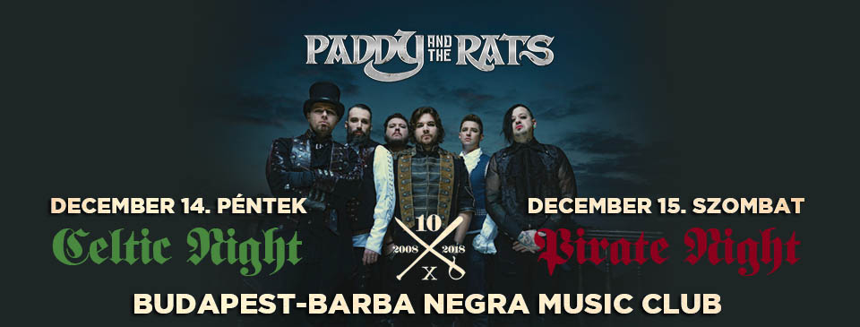 PADDY AND THE RATS - 12/15