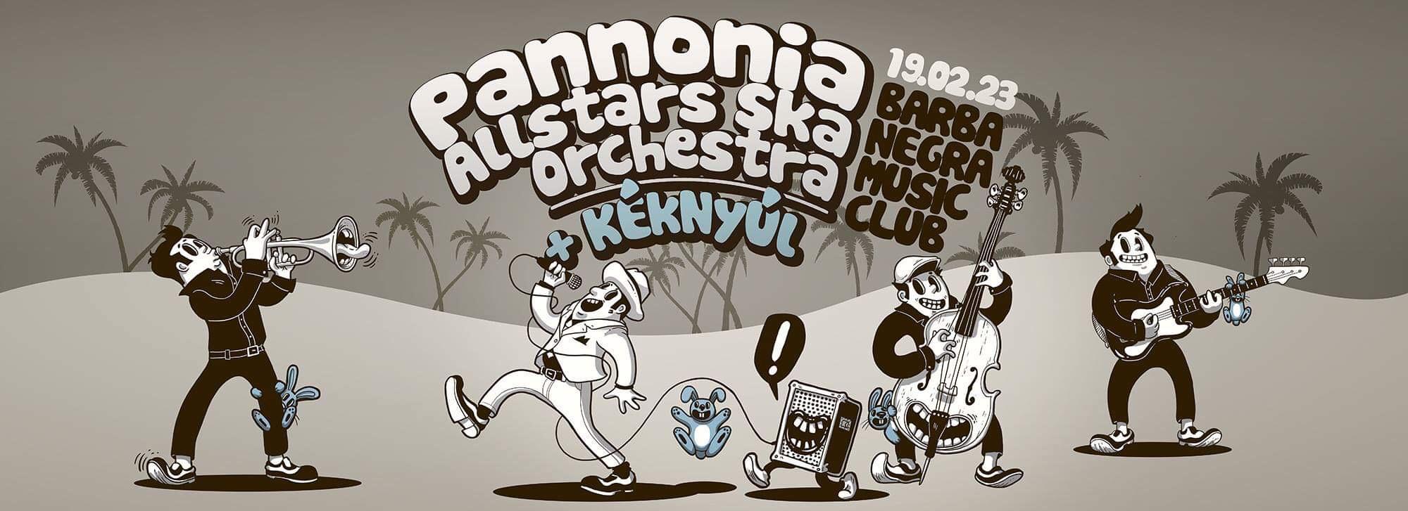 Pannonia Allstars Ska Orchestra | Kéknyúl