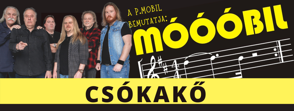P.MOBIL - Móóóbil! 2021 - Csókakő vára