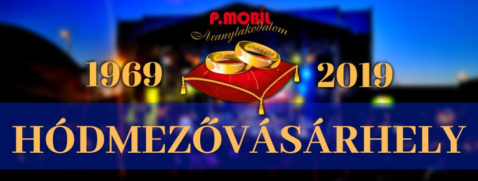 P.MOBIL - Aranylakodalom koncert - Hódmezővásárhely