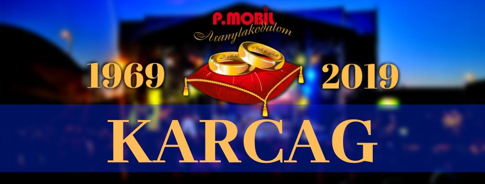 P.MOBIL - Aranylakodalom koncert - Karcag