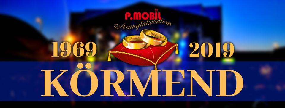 P.MOBIL - Aranylakodalom koncert - Körmend