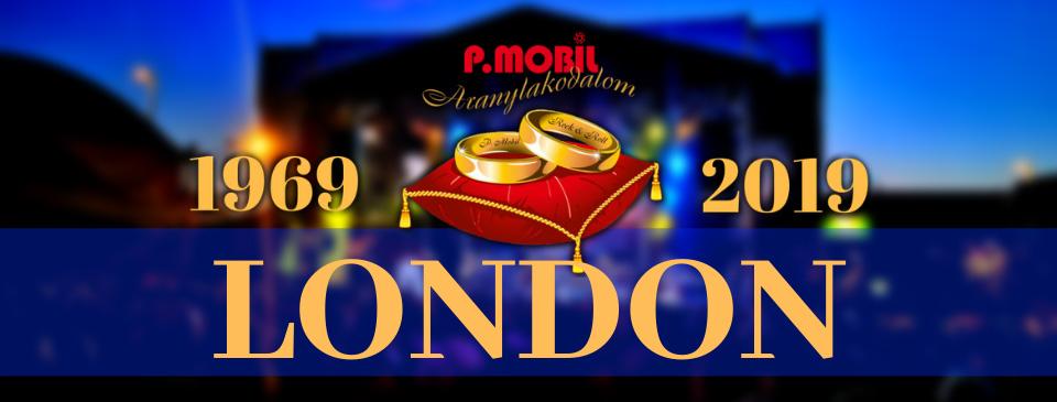 P.MOBIL - Aranylakodalom koncert - London