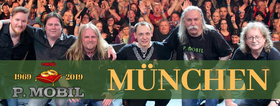 P.MOBIL - Aranylakodalom koncert - Backstage München