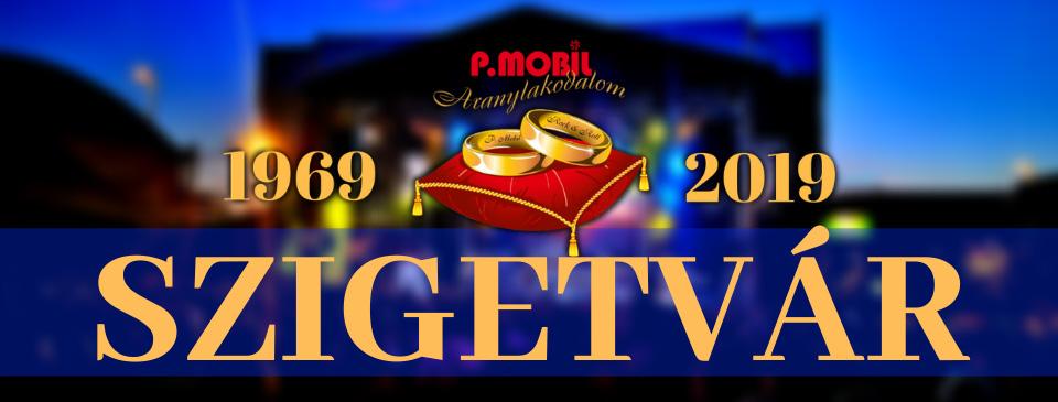 P.MOBIL - Aranylakodalom koncert - Szigetvár