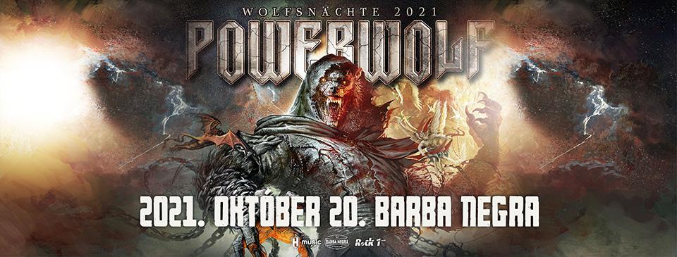 POWERWOLF - Wolfsnächte 2021   Budapest