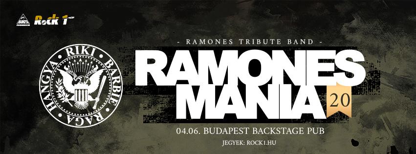 Ramones Mania 20 - Budapest