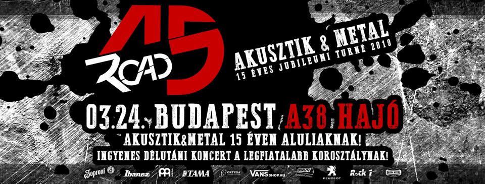 ROAD 15 - Budapest - A38 Hajó