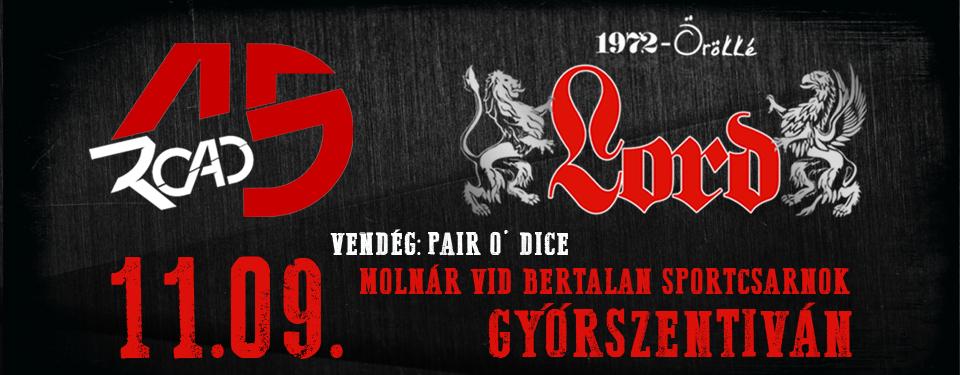 ROAD 15 - LORD - Győrszentiván