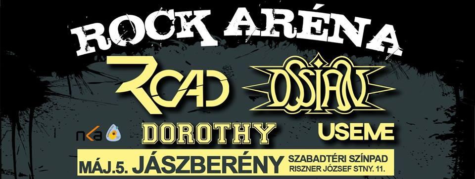 ROCK ARÉNA - Jászberény - Szabadtéri Színpad