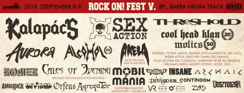 ROCK ON! FEST 2018 - 1. Nap