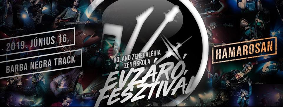 Roland Zenegaléria Zeneiskola Évzáró Fesztivál