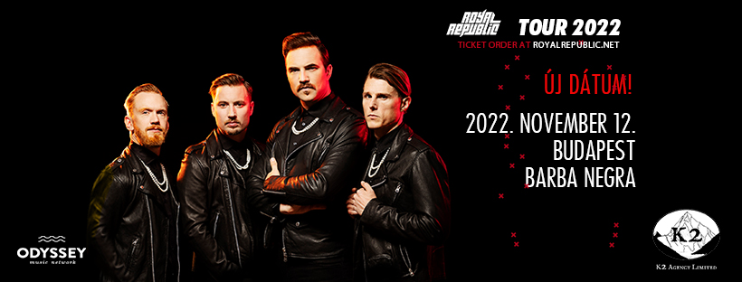 ROYAL REPUBLIC - Tour 2022