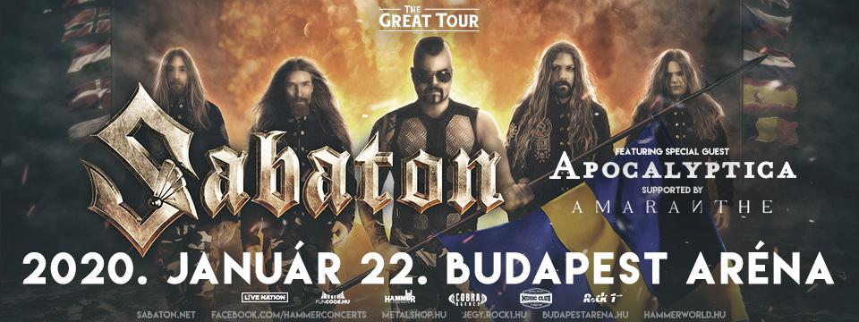 SABATON - Budapest Aréna - Küzdőtér