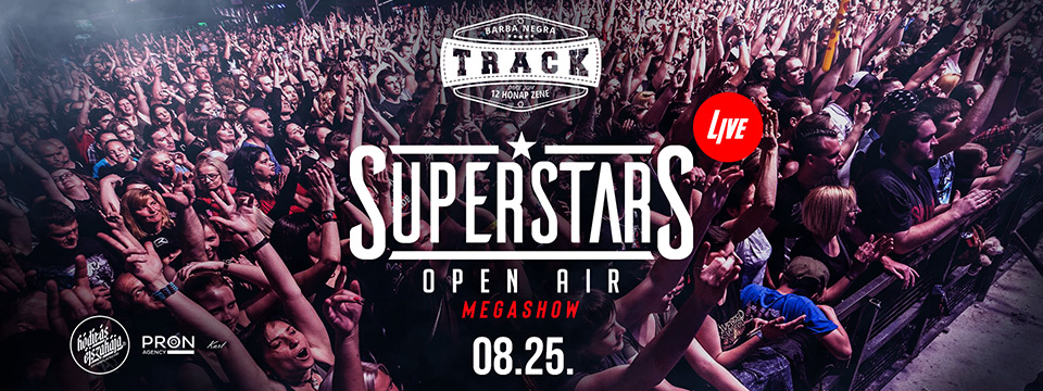 SuperStars Live - Open Air - VIP Ticket