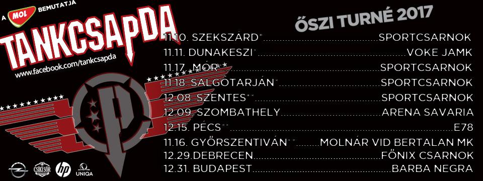 Tankcsapda Turné 2017 - Mór - Sportcsarnok