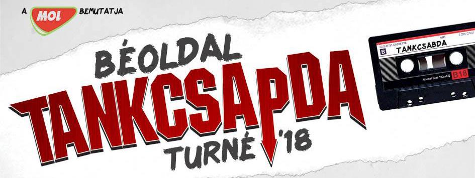 Tankcsapda BÉ-OLDAL Turné 2018 - Kazincbarcika