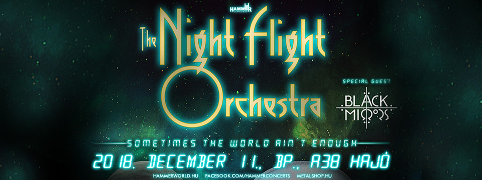 The Night Flight Orchestra - A38 Hajó