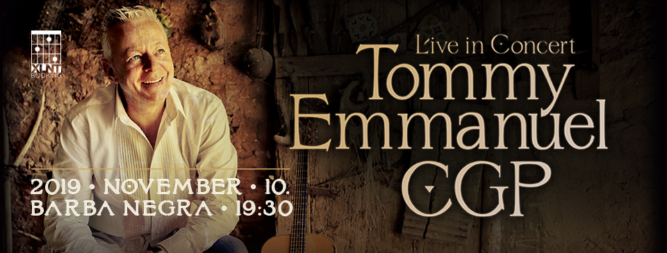 Tommy Emmanuel CGP - Galéria jegy