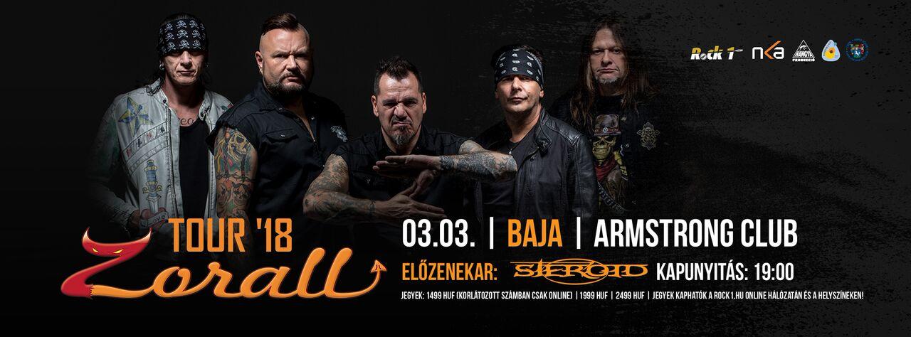 ZORALL Tour 2018 - Baja