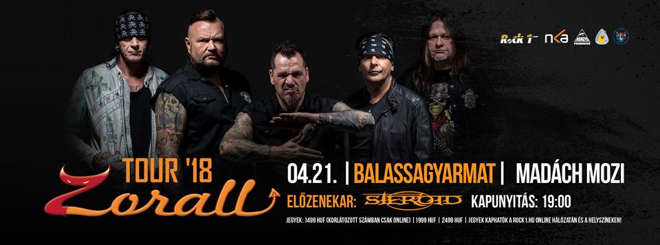 ZORALL Tour 2018 - Balassagyarmat