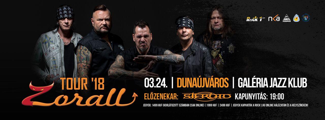 ZORALL Tour 2018 - Dunaújváros