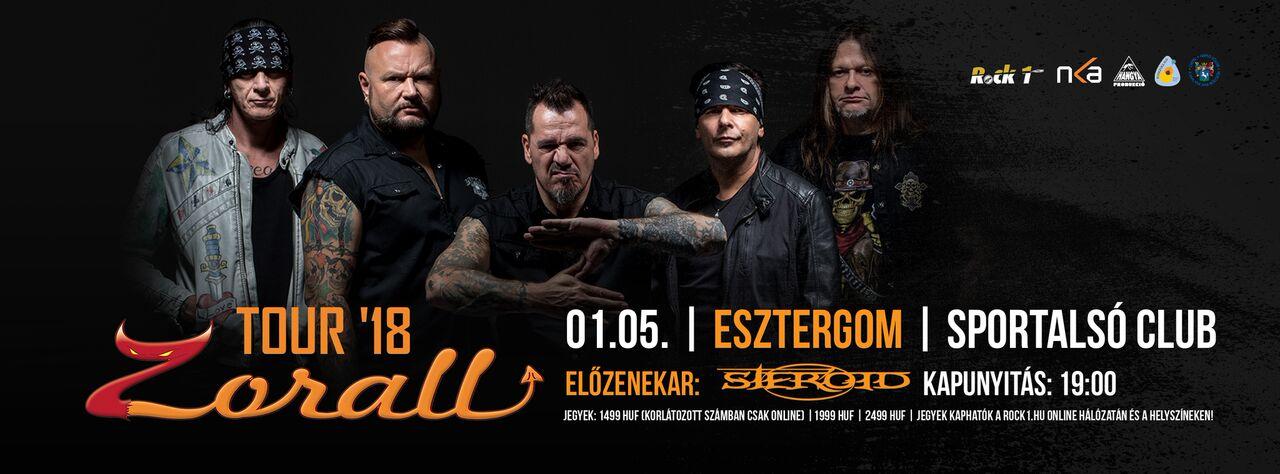 ZORALL Tour 2018 - Esztergom