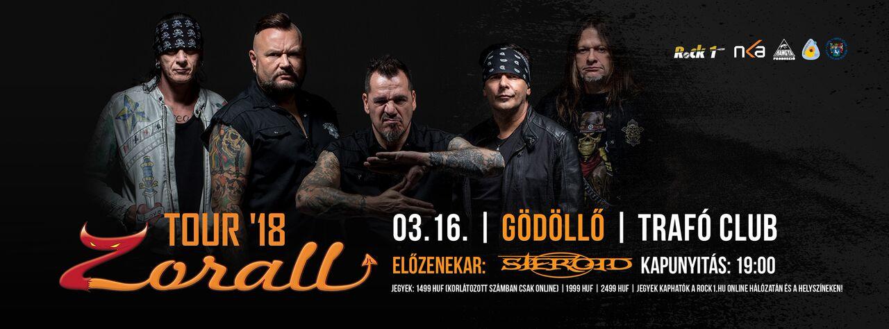 ZORALL Tour 2018 - Gödöllő