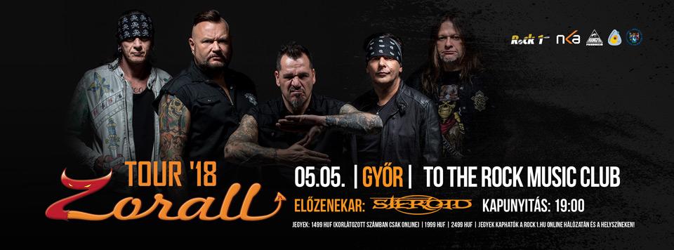 ZORALL Tour 2018 - Győr