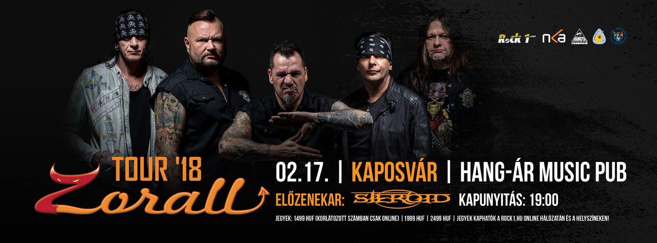 ZORALL Tour 2018 - Kaposvár