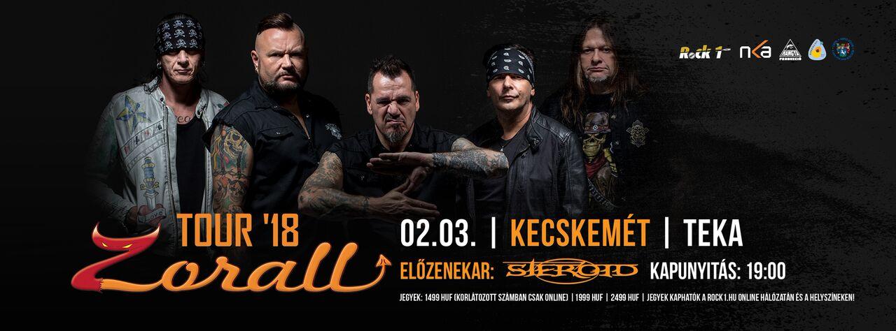 ZORALL Tour 2018 - Kecskemét