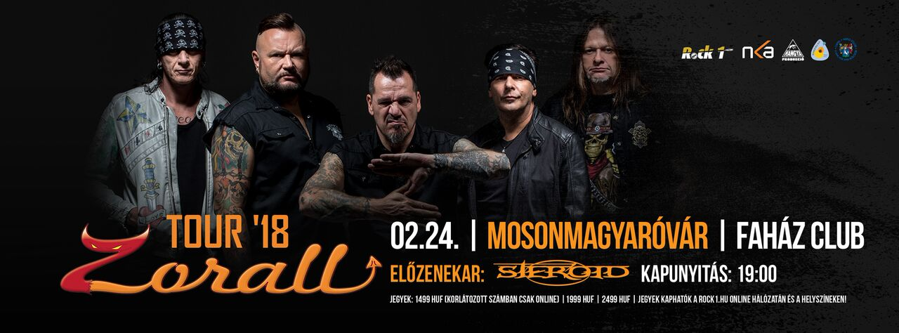 ZORALL Tour 2018 - Mosonmagyaróvár