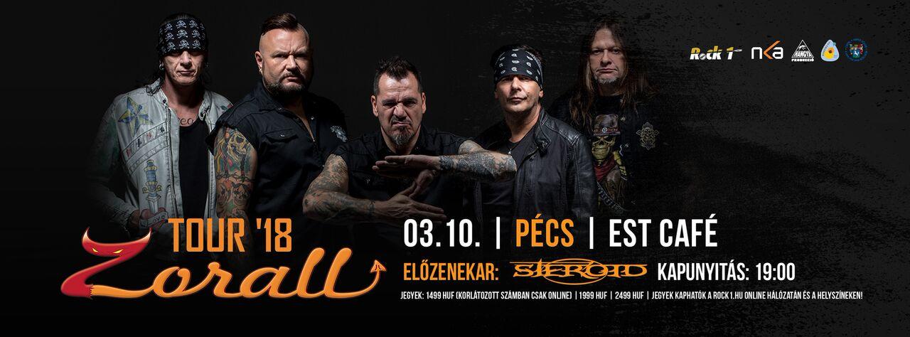 ZORALL Tour 2018 - Pécs