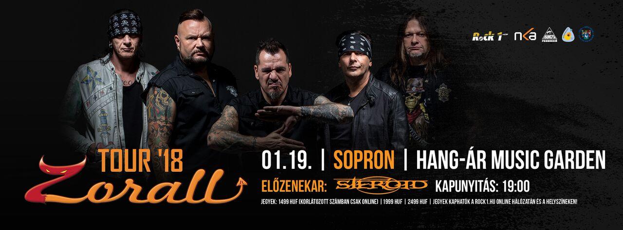 ZORALL Tour 2018 - Sopron