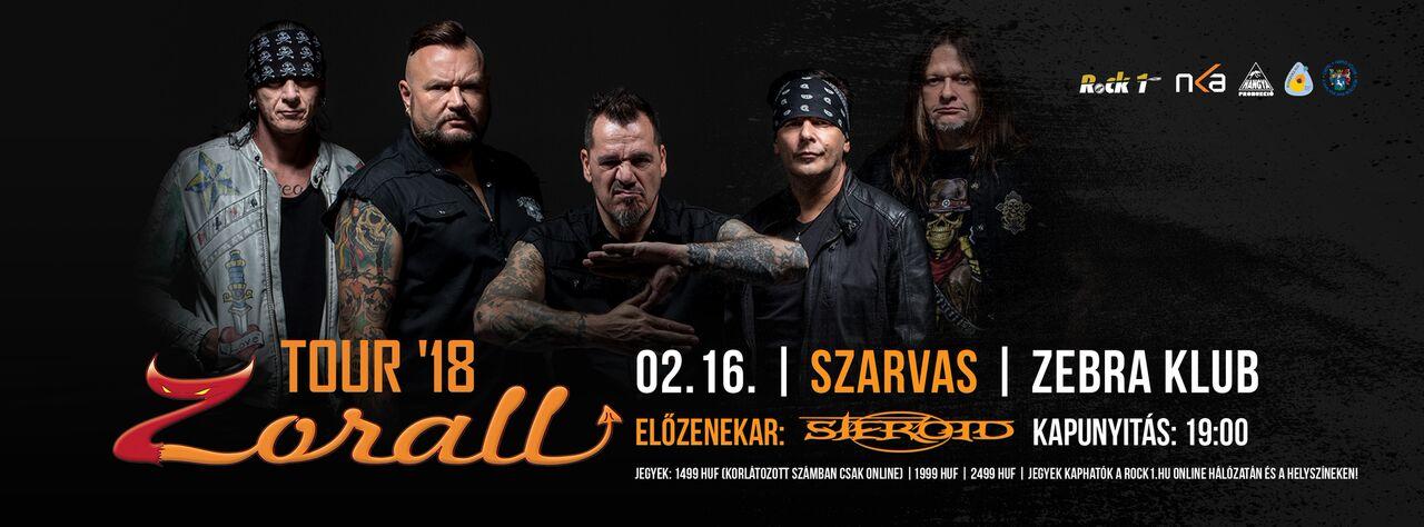 ZORALL Tour 2018 - Szarvas